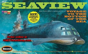 Seaview MOVIE Edition 1:128 scale from Moebius Models PREORDER RESERVATION