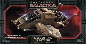 Galactica Raptor 1:32 scale from Moebius