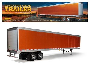 Great Dane 53 foot Smooth Side Trailer with refeer option 1:25 from Moebius Models