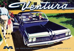 1961 Pontiac Ventura SD 1:25 from Moebius Models