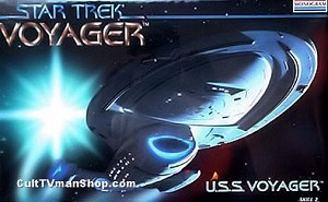 USS Voyager - original kit from Monogram