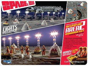 Space: 1999 Nuclear Waste Area #2 - 1:48 scale diorama and 1:24 Moon Buggy from MPC/Round 2