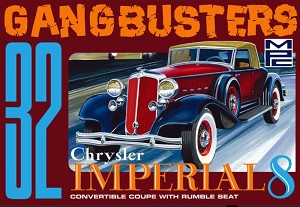 NEW: Gangbusters 1932 Chrysler Imperial 1:25 from MPC/Rounnd 2