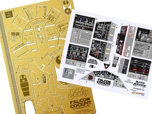 DeAgostini Falcon Cockpit Detail set from Paragrafix