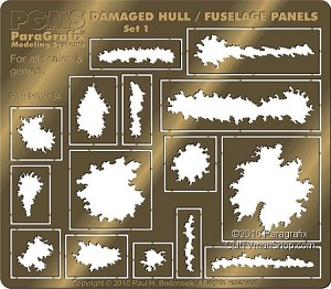 Damaged Hull & Fuselage Panels from Paragrafix