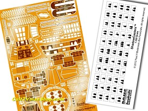 Refit 1:350 photoetch detail set from Paragrafix