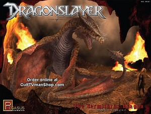 Dragonslayer Vermithrax from Pegasus Hobbies