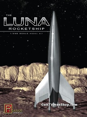 mini-Luna 1:350 kit from Pegasus Hobbies