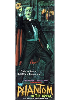 The Phantom of the Opera -  Aurora reissue from Atlantis - PREORDER RESERVATION