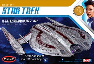 USS Shenzhou 1:2500 scale from Round 2/Polar Lights