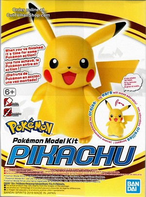 Pikachu - Pokemon model collection from Bandai