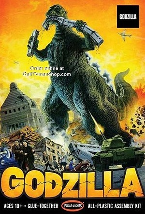Big Godzilla reissue 1:144 scale from Polar Lights/Round 2