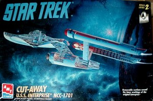 Enterprise Cutaway model from AMT - OPEN BOX KIT