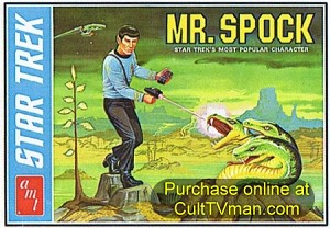 Mr. Spock reissue from AMT/Round 2