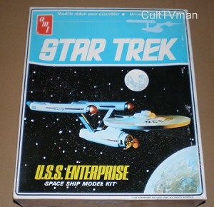 "Classic Starship Enterprise - 18"" kit from AMT small box issue"