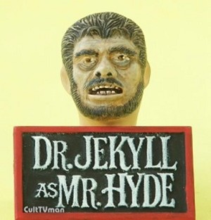 Jekyll-Hyde teeth insert and nameplate from Cult of Personality/JTGraphics
