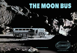 2001 Moonbus  reissue from Moebius Model (2010 edition)