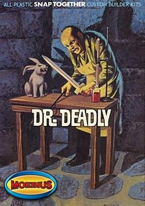 Dr. Deadly PREPAINTED from Moebius Models