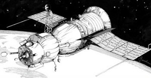 Soyuz Spacecraft (Soyuz 1,3, 4) from New Ware