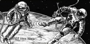 First Spacewalkers 1/24 scale from New Ware