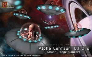Alpha Centauri UFO Short Range Saucers from Pegasus Hobbies