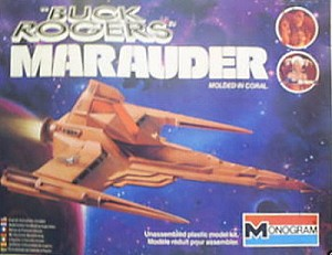 Buck Rogers Marauder from Monogram