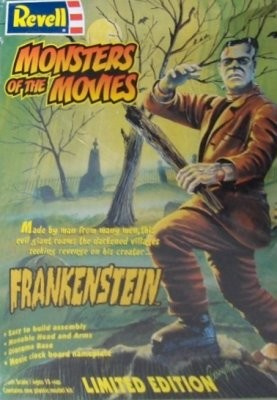 Monsters of the Movies Frankenstein- reissue from Revell