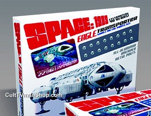 Space:1999 Eagle Small Metal Thruster Pack for 22-inch kit 1:48 scale from Round 2/MPC