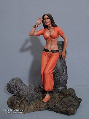 Caroline Munro - Golden Girl signed edition from Red Planet