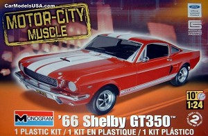 1966 Shelby Mustang GT350 1:24 from Revell