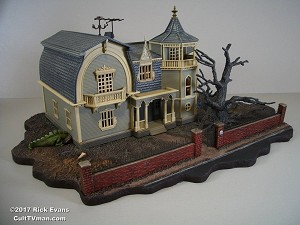 Munsters Haunted House Base  from Red Planet
