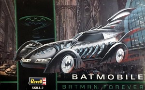 Batman Forever Batmobile  1:25  1995 from Revell/Monogram OPEN BOX KIT