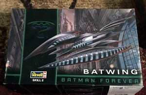 Batman Forever Batwing 1:25  1995 from Revell/Monogram