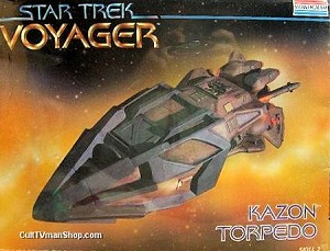 Voyager Kazon Torpedo from Monogram