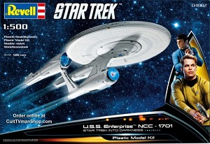 New Enterprise 1:500 (Kelvin Universe) from Revell Germany