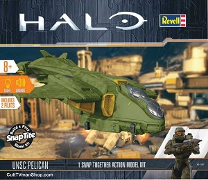 HALO UNSC Pelican 1:100 from Revell