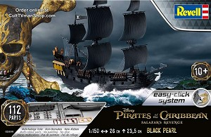 The Black Pearl - Pirates of The Caribbean 1:150 scale from Revell Germany
