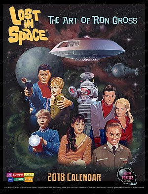 Lost in Space - The Art of Ron Gross 2018 Calendar