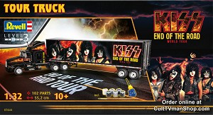 KISS Tour Truck - 1:32 scale from Revell/Germany