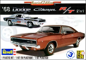 1968 Dodge Charger R/T 1:25 from Revell