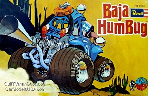 Dave Deal's Baha Humbug - 2018 reissue from Revell