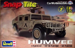 US Military Humvee 1:25 from Revell/Monogram