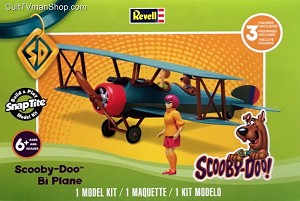 Scooby Doo Bi-Plane 1:20 from Revell
