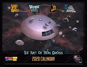 The Art of Ron Gross - 2020 Calendar - Lost in Space, Voyage to the Bottom of the Sea and more!