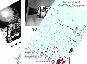 Apollo CSM/LM1:72 scale decals REVISED  from CultTVman/Space Model Systems