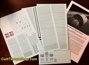 Gemini Spacecraft 1:24 scale decals REVISED from Space Model Systems