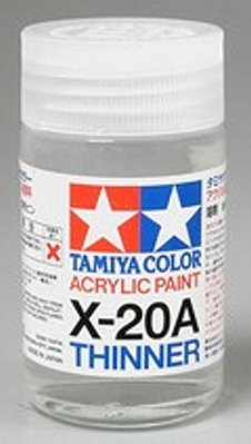 Acrylic Thinner X20A - 46ml from Tamiya