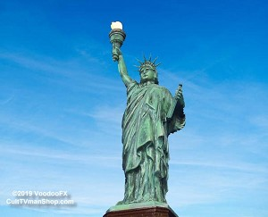 Statue of Liberty  light kit from VoodooFX